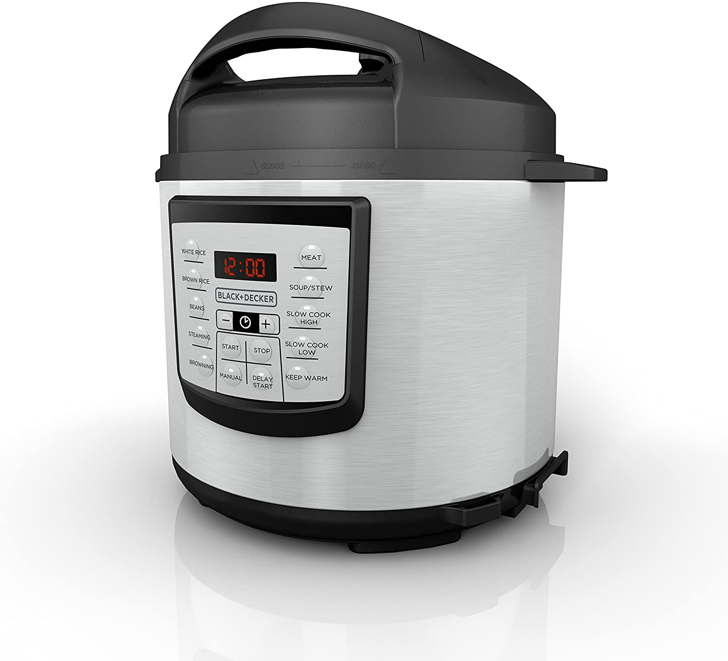 Black+Decker pressure cooker