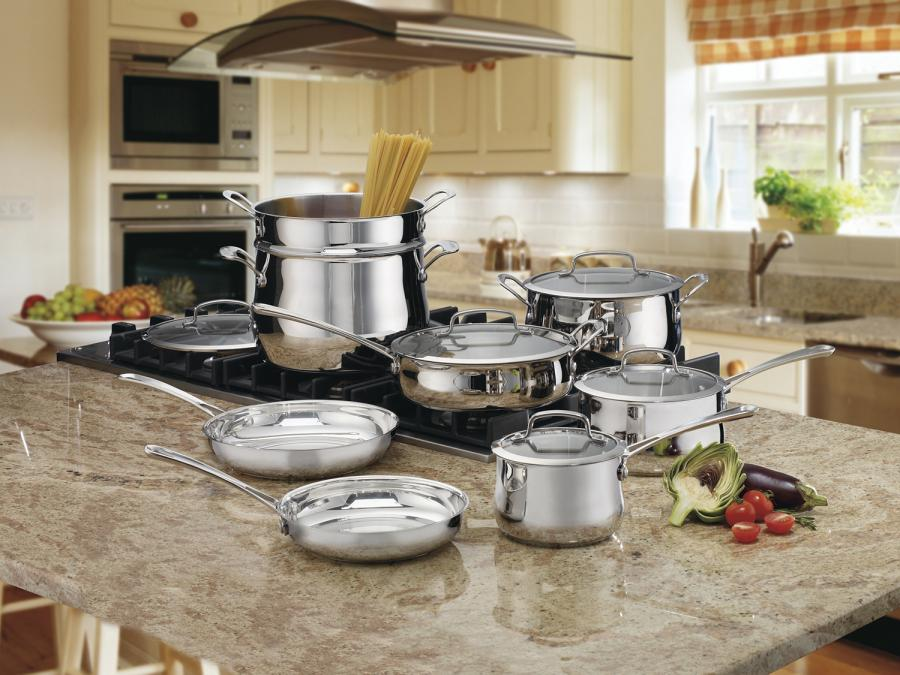 cuisnart among best cookware sets