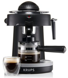 krups espresso machine below 300 bucks