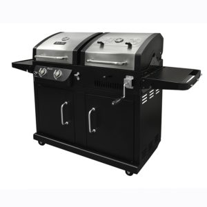 Dyna-Glo DGB730SNB-D Dual Fuel combo Grill