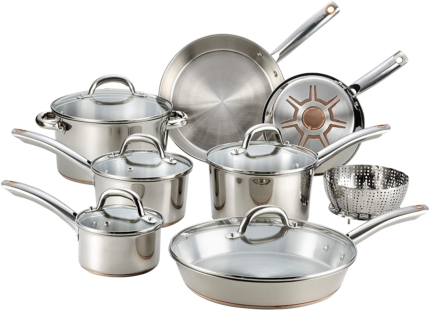 T-fal Ultimate affordable cookware set