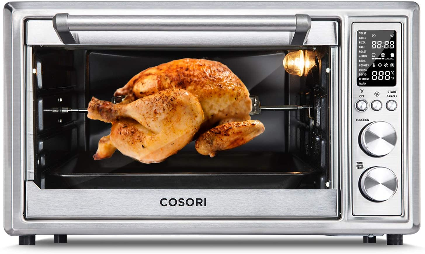 CO130-AO 12-In-1 Air Fryer Toaster Oven Combo