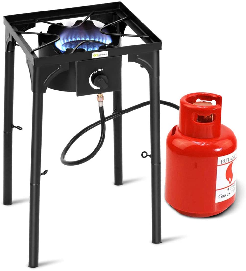 Goplus Outdoor Camp Stove High Pressure Propane Gas Cooker