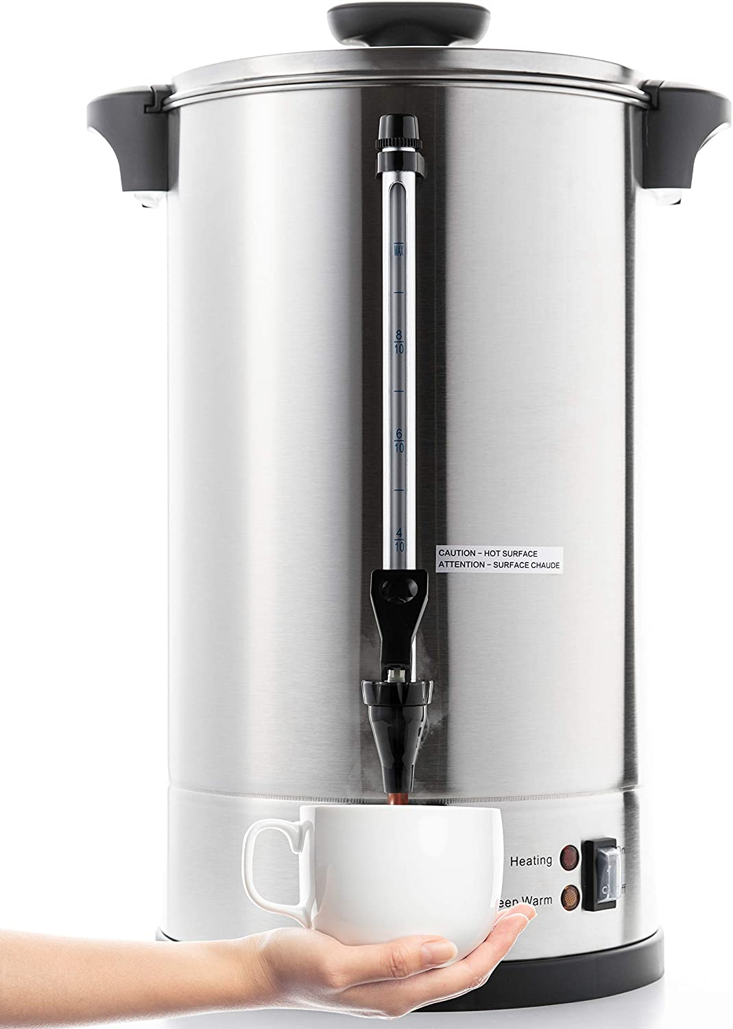 Sybo Sr-Cp100c Durable Stainless Steel Coffee Urn