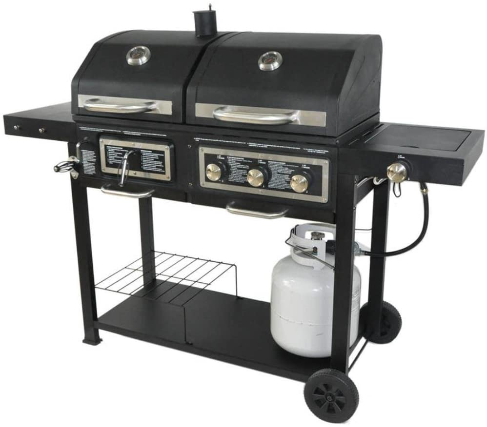 Dual Fuel Combination Grill