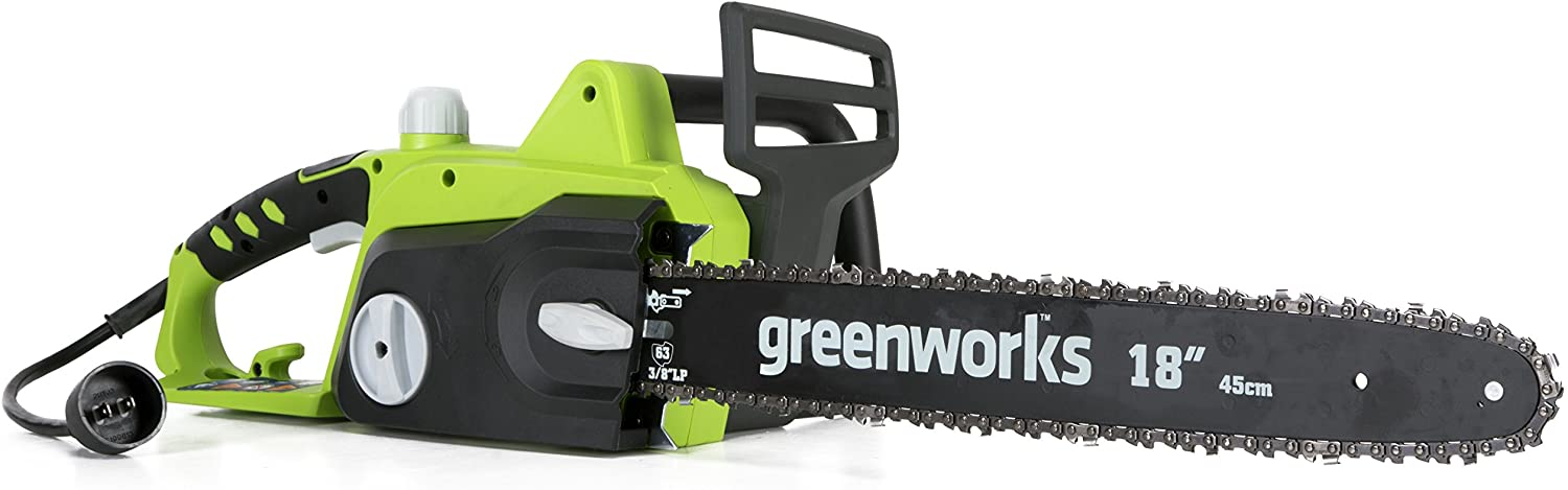 Greenworks 18 inch Corded Electric Chainsaw
