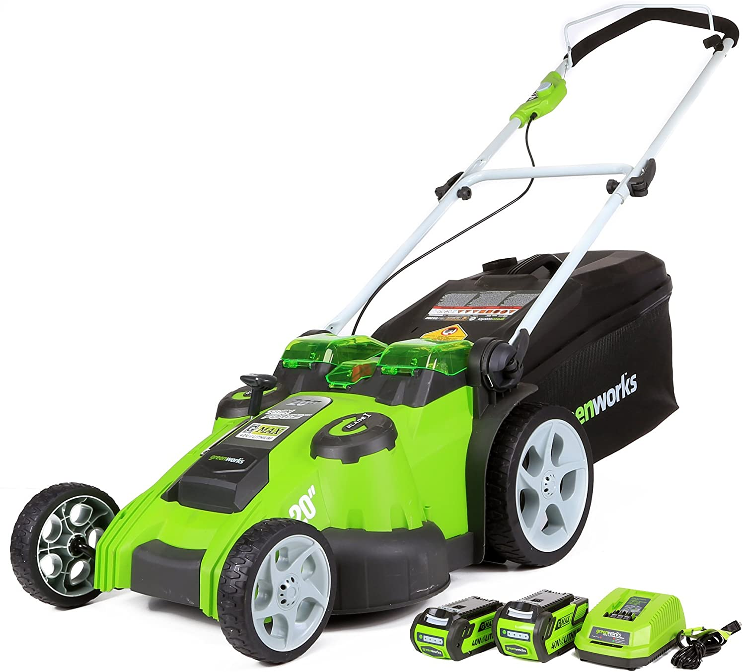 Greenworks 40V 20 Inch Cordless Twin Force Lawn Mower