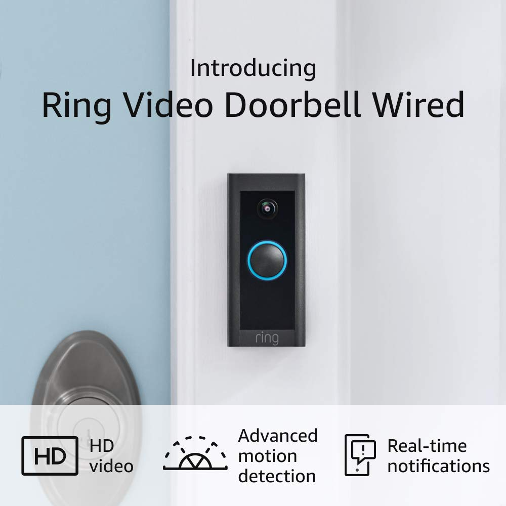 Ring Video Doorbell Wired-2021 release